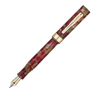 Conklin® Endura Fountain Pen, Stub Nib, Red/Taupe