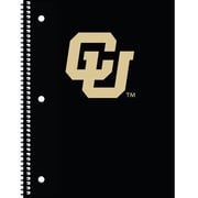 Turner Licensing® Colorado Buffaloes Notebooks, 10 1/2 x 5