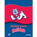 Turner Licensing® Fresno State Bulldogs Notebooks, 10 1/2in. x 5in.