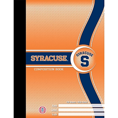 Turner Licensing® Syracuse Orange Composition Notebooks, 9 3/4in. x 7 1/2in.