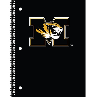 Turner Licensing® Missouri Tigers Notebooks, 10 1/2in. x 5in.
