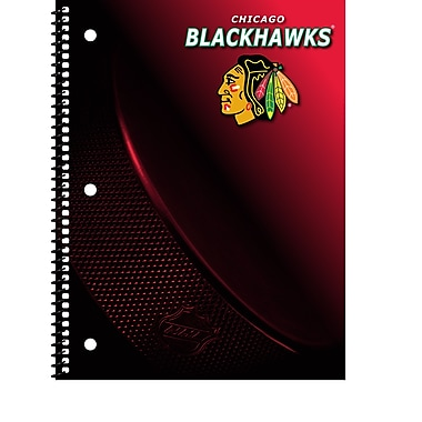 Turner Licensing® Chicago Blackhawks Notebooks, 10 1/2in. x 5in.