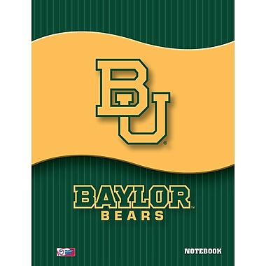 Turner Licensing® Baylor Bears Notebooks, 10 1/2in. x 5in.