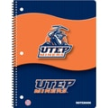 Turner Licensing® Utep Miners Notebooks, 10 1/2in. x 5in.