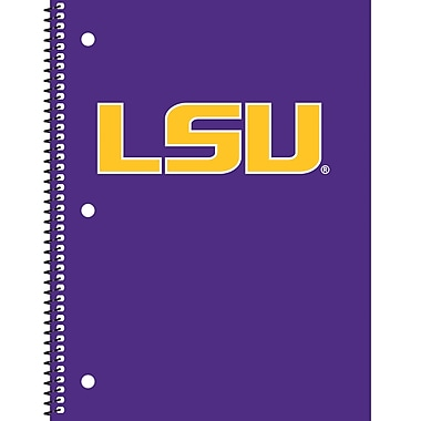 Turner Licensing® Lsu Tigers Notebooks, 10 1/2in. x 5in.