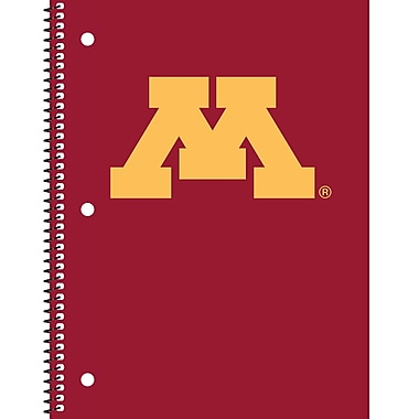 Turner Licensing® Minnesota Golden Gophers Notebooks, 10 1/2in. x 5in.