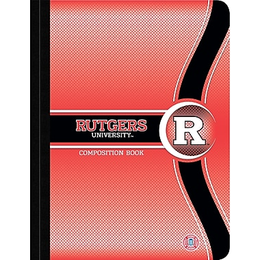 Turner Licensing® Rutgers Scarlet Knights Composition Notebooks, 9 3/4in. x 7 1/2in.