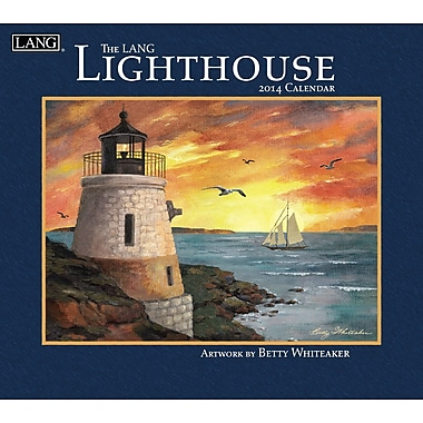 LANG® Lighthouse 2014 Wall Calendar