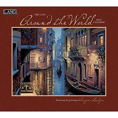 LANG® Around The World 2014 Wall Calendar