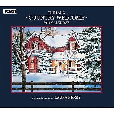 LANG® Country Welcome 2014 Wall Calendar
