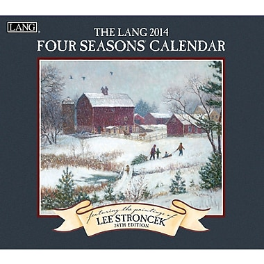 LANG® Four Seasons 2014 Wall Calendar
