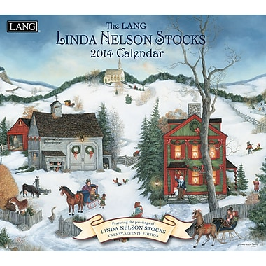 LANG® Linda Nelson Stocks 2014 Wall Calendar