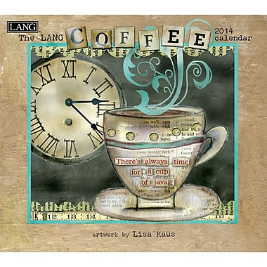 LANG® Coffee 2014 Wall Calendar