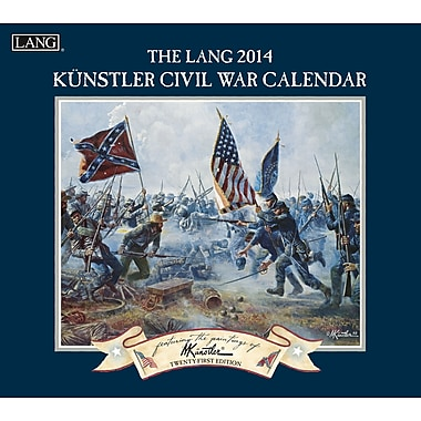 LANG® Civil War 2014 Wall Calendar