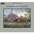 LANG® Legends In Gray 2014 Wall Calendar