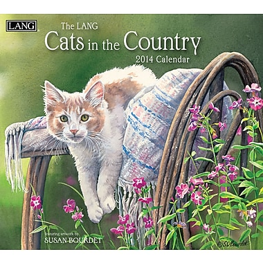 LANG® Cats In The Country 2014 Wall Calendar