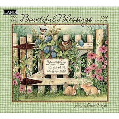 LANG® Bountiful Blessings 2014 Wall Calendar