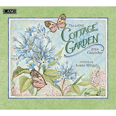 LANG® Cottage Garden 2014 Wall Calendar