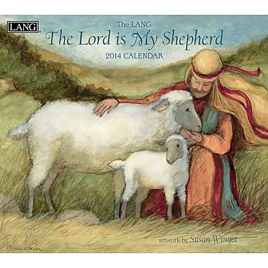 LANG® The Lord Is My Shepherd 2014 Wall Calendar