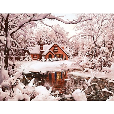 LANG® Winter Cottage Boxed Christmas Cards