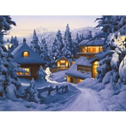 LANG® Snowy Lodge Boxed Christmas Cards