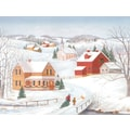 LANG® Fresh Snow For Christmas Boxed Christmas Cards