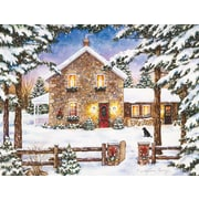 LANG® Nestled In The Pines Boxed Christmas Cards