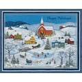LANG® Snowy Evening Boxed Christmas Cards