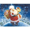 LANG® Jolly Santa Boxed Christmas Cards