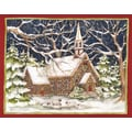 LANG® Stone Church Boxed Christmas Cards