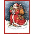 LANG® Merry Santa Boxed Christmas Cards