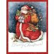 LANG® Merry Santa Boxed Christmas Cards