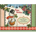 LANG® Snow Is Falling Boxed Holiday Cards