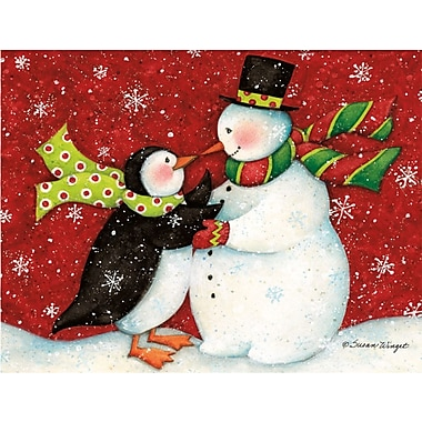 LANG® The Snowman Dance Boxed Holiday Cards
