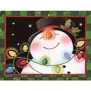 LANG® Snowman Lights Boxed Holiday Cards