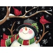LANG® Snowman With Cardinals Boxed Holiday Cards
