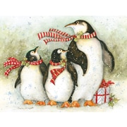 LANG® Christmas Day Penguins Boxed Christmas Cards