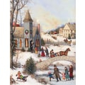 LANG® Folk Art Christmas Assorted Boxed Christmas Cards, 2/Set
