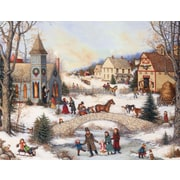 LANG® Folk Art Holiday Assorted Boxed Christmas Cards, 2/Set