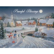 LANG® Meadowlands Church Assorted Boxed Christmas Cards, 2/Set