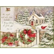 LANG® Little Church Assorted Boxed Christmas Cards, 2/Set