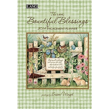 LANG® Bountiful Blessings 2014 Engagement Planner