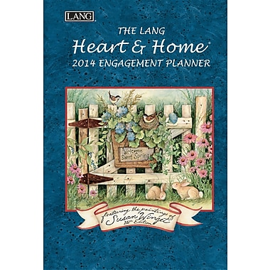 LANG® Heart & Home 2014 Engagement Planner