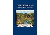 LANG® Folk Art 2014 Monthly Planner