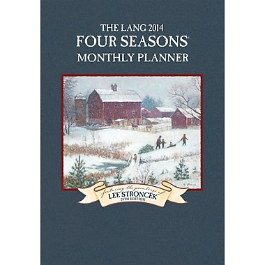 LANG® Four Seasons 2014 Monthly Planner