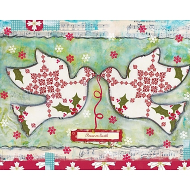 LANG® Artisan Peace On Earth Doves Classic Christmas Cards