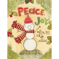 LANG® Artisan Peace Love Snowman Classic Christmas Cards