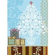 LANG® Artisan Damask Christmas Tree Classic Christmas Cards