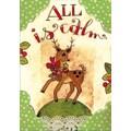 LANG® Artisan Dancing Reindeer Petite Christmas Cards