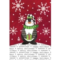 LANG® Artisan Stocking Cap Penguin Petite Christmas Cards